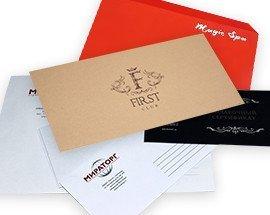Печать конвертов с логотипом
