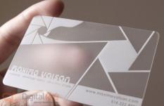 Пластиковые визитки